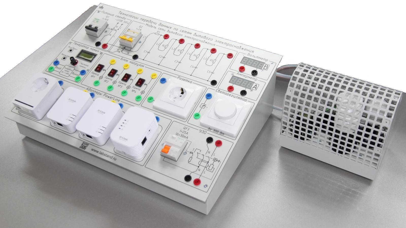 Технология передачи данных PowerLine по сетям бытового электроснабжения